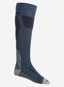 Ultralight wool sock larkspur