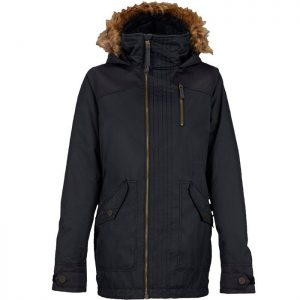 burton hazel jacket true black 2016
