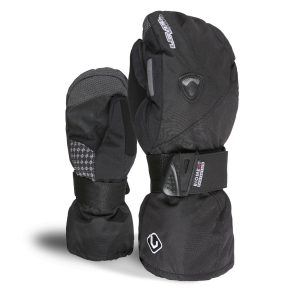level mitt butterfly black