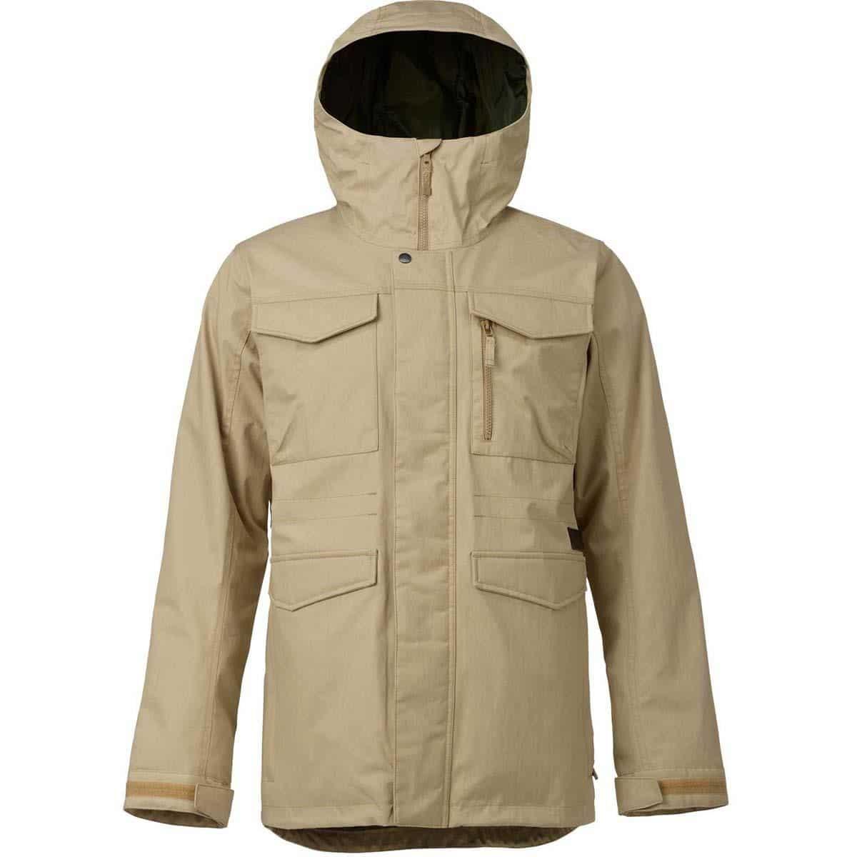Burton Covert jacket heren snowboard jas grijs