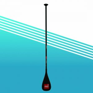 Red carbon elite paddle
