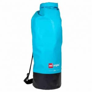 Red paddle Roll top dry bag blue 30L