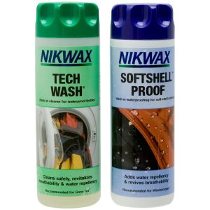 Nikwax Set Techwash/Softshell Proof