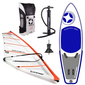 Unifiber Elevate iWindsurf 280L Complete Set