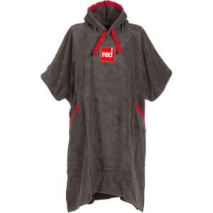 red poncho luxury toweling