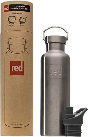 Insulated bottle bottle Black 750ML