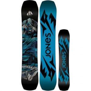 Jones Mountain Twin 2022 Black/Blue